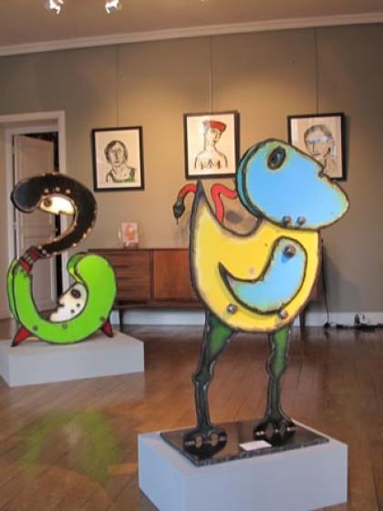 JOHN MARTINI, Galerie Antoine Laurentin, Paris, 2011