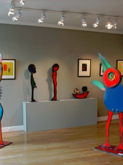 RECENT WORKS, Galerie Antoine Laurentin, 2007