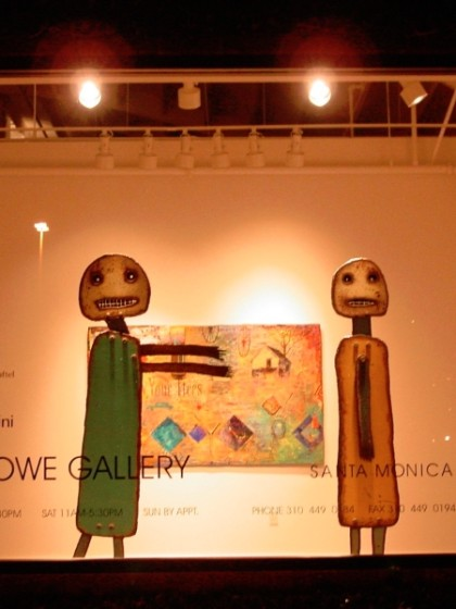 Sculpture, Lowe Gallery, Santa Monica, 2004
