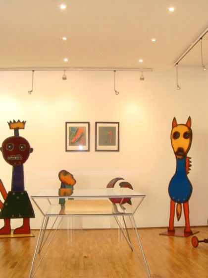 SCULPTURE, Gallery Santa Marta, Milan Italy, 2008