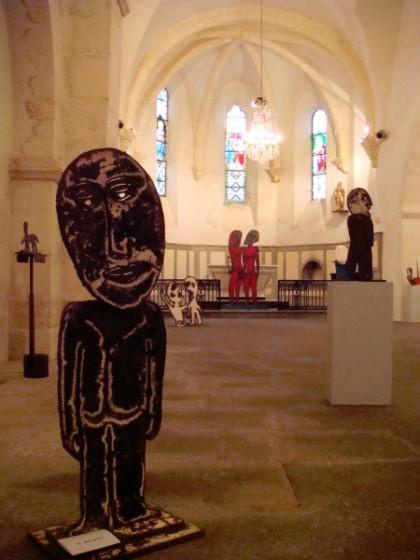 RECENT SCULPTURE, Centre d'art de Beaumont at Notre Dame, Beaumont France, 2007