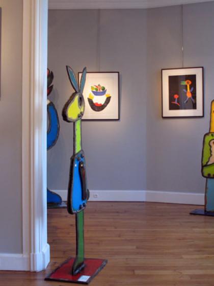 John Martini Sculptures & Monotypes, Galerie Antoine Laurentin, Paris, 2014