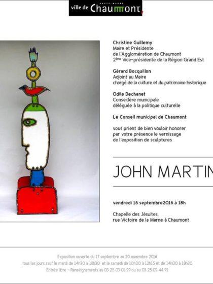 John Martini – Chapelle des Jesuites, Chaumont 2016