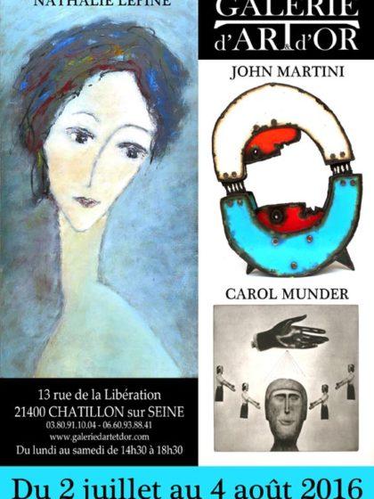 Galerie Art d' Or – Chattilon Sur Seine 2016